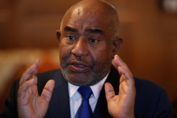 The Indian Ocean archipelago, headed by President Azali Assoumani, is the second-last African country to report a COVID-19 case [File: Gonzalo Fuentes/Reuters]