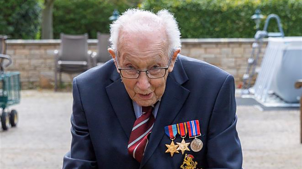Tributes to Captain Sir Tom Moore after his death