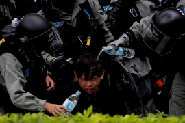 Hong Kong's protesters are being used to further their own ruin