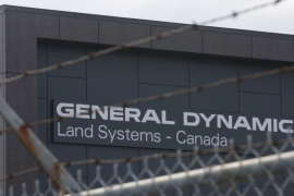The General Dynamics Land Systems factory is seen in London, Ontario, Canada [File: Chris Helgren/Reuters]