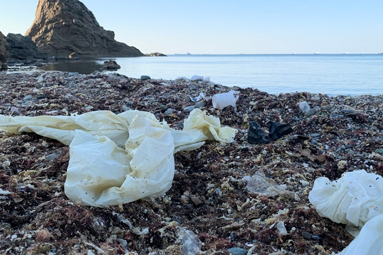 Turkey has the most polluted beaches in the Mediterranean, according to the World Wildlife Fund [File: Britt Clennett/Al Jazeera]
