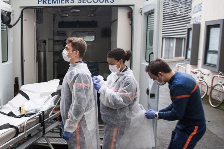 France coronavirus death toll tops 10,000: Live updates   Asia   Al Jazeera