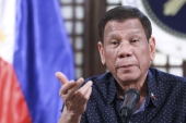 Philippine President Rodrigo Duterte, 76, had been absent in public for two weeks, fuelling speculation over his health [File: Ace Morandante/Malacanang Presidential Photographers Division via AP]