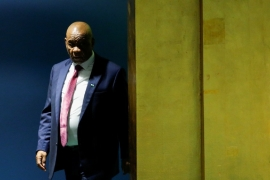 Following mounting calls for Thomas Thabane to step down as Lesotho's prime minister, local political actors agreed with South Africa's mediators on his resignation [File: Eduardo Munoz/Reuters]