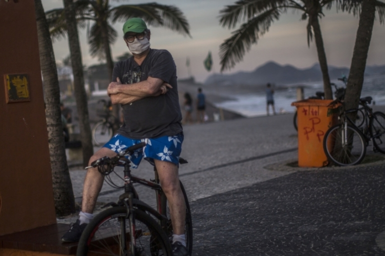 Brazil's 'war budget' creates an extraordinary regime to prevent expenses related to the 'state of emergency' decree triggered by the pandemic [File: Dado Galdieri/Bloomberg]