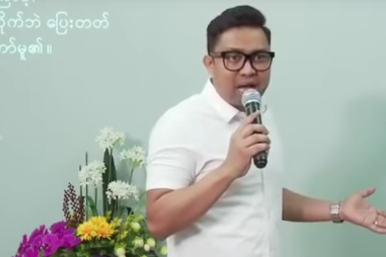 Pastor Lah and three of his companions, who were charged for violating government restrictions, have all reportedly tested positive for COVID-19 and were receiving treatment, and legal action would be pursued upon their recovery [Child of God YouTube channel via Reuters]