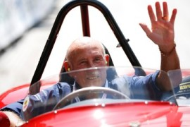 Legendary motor racing driver Stirling Moss dies, age 90