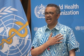Tedros says the WHO wants accountability 'more than anyone' as states agree to probe on virus response [Christopher Black/WHO/AFP]