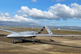 Several countries have shown interest in Turkish-made UAVs that were effective in regional conflicts such as Syria, Libya and Nagorno-Karabakh [File: DHA via AP]