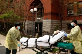 New York reported that nursing home deaths account for only 20 percent of its total death toll, far lower than in other states in the United States [File: Lucas Jackson/Reuters]
