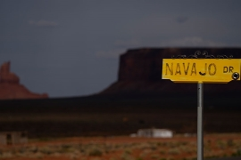 The Navajo Nation was one of the US's first COVID-19 hotspots earlier in the year [Carolyn Kaster/AP]