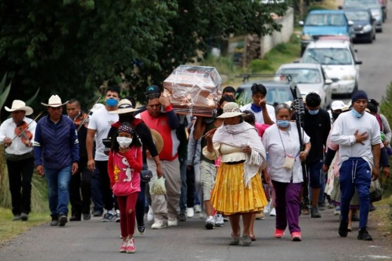 8,000 'excess deaths' in Mexico City as coronavirus rages: study | Andres  Manuel Lopez Obrador News | Al Jazeera