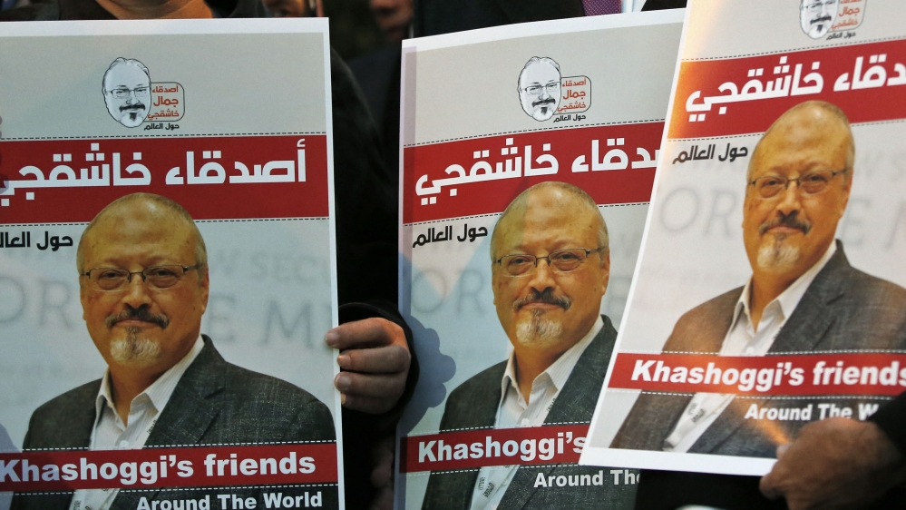 We will not allow Khashoggi's killers to evade justice