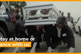 Ghana's dancing pallbearers: 'Stay at home or dance with us' [Daylife]