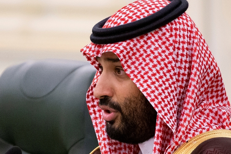 Some programmes tied to Saudi Arabia's Crown Prince Mohammed bin Salman's Vision 2030 plan to diversify the kingdom's economy away from oil and create jobs for its youthful workforce fell victim to budget cuts announced on Monday [File: Alexander Zemlianichenko/Pool via Reuters]