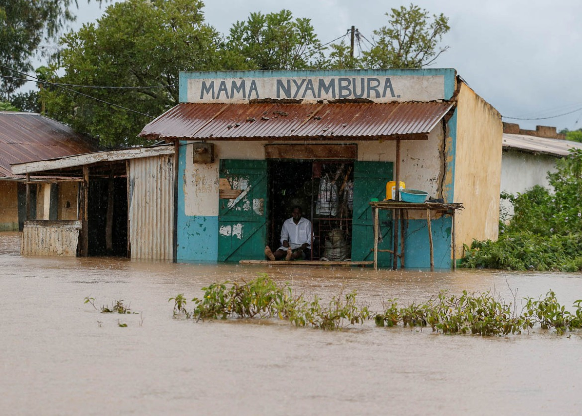 The heavy downpours have led to flooding and landslides in many parts of Kenya. [Thomas Mukoya/Reuters]