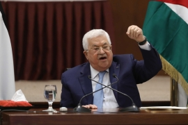 The Palestinian Authority and resistance factions have denounced the UAE-Israel deal, saying it does not serve the Palestinian cause and ignores the rights of Palestinians [File: Alaa Badarneh/Pool via Reuters]
