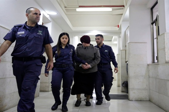 Malka Leifer, a former educator who is accused of sexually abusing former students, has been fighting extradition from Israel to Australia for six years [File: Mahmoud Illean/AP Photo]