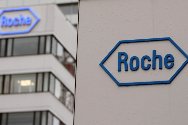 Swiss drug giant Roche had its antibody test approved by the US FDA at the weekend [File photo/Arnd Wiegmann/Reuters]