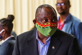 South African President Cyril Ramaphosa wrote to governing party members earlier this month that the ANC 'does stand as accused number one' [File: Jerome Delay/Reuters]