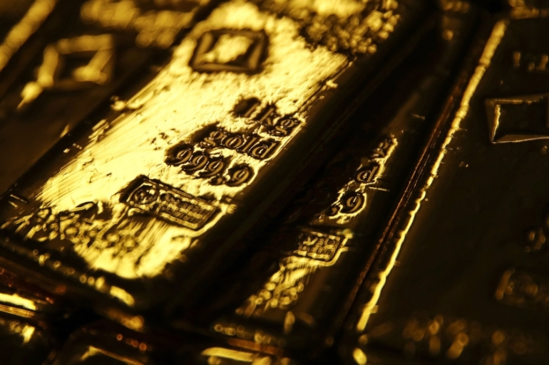 June gold futures sank to more than $20 an ounce below August earlier this week [File: Bloomberg]