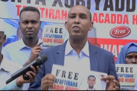 Amnesty: Somalia journalists face abusive means of suppression