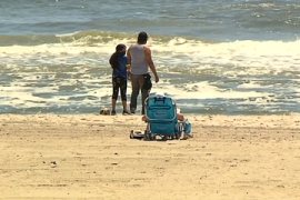 Confusion over beach openings for US Memorial Day weekend