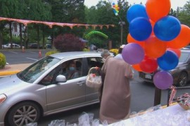 US Muslims celebrate 'distanced' Eid al-Fitr amid COVID-19 fears