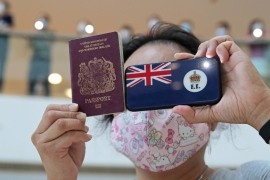 Beijing's move to impose a national security law in June last year prompted Britain to offer refuge to almost three million Hong Kong residents eligible for BNO passport from January 31 [Kin Cheung/AP Photo]