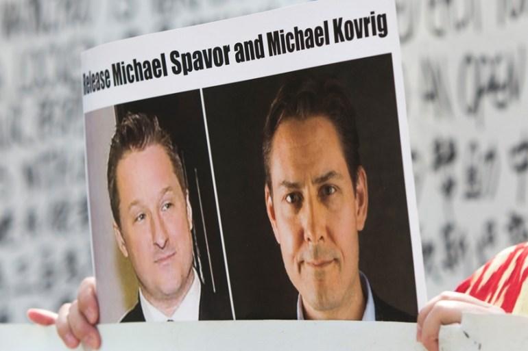 China arrested Spavor and Kovrig on espionage charges in December 2018 [File: Jason Redmond / AFP]