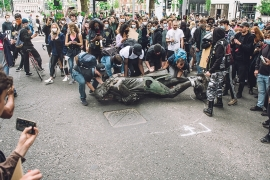 Statues fall as global anti-racism protests spread: Live updates
