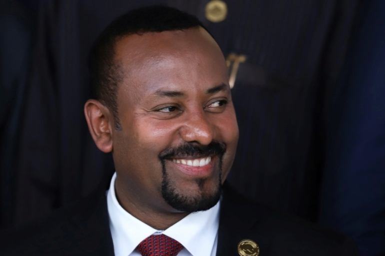 Opposition leaders who have accused Prime Minister Abiy Ahmed of using the pandemic to artificially extend his time in office [File: Tiksa Negeri/Reuters]