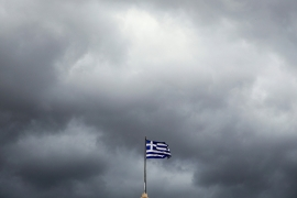 Clouds are gathering over Greece's natural gas sector [File: Alkis Konstantinidis/Reuters]