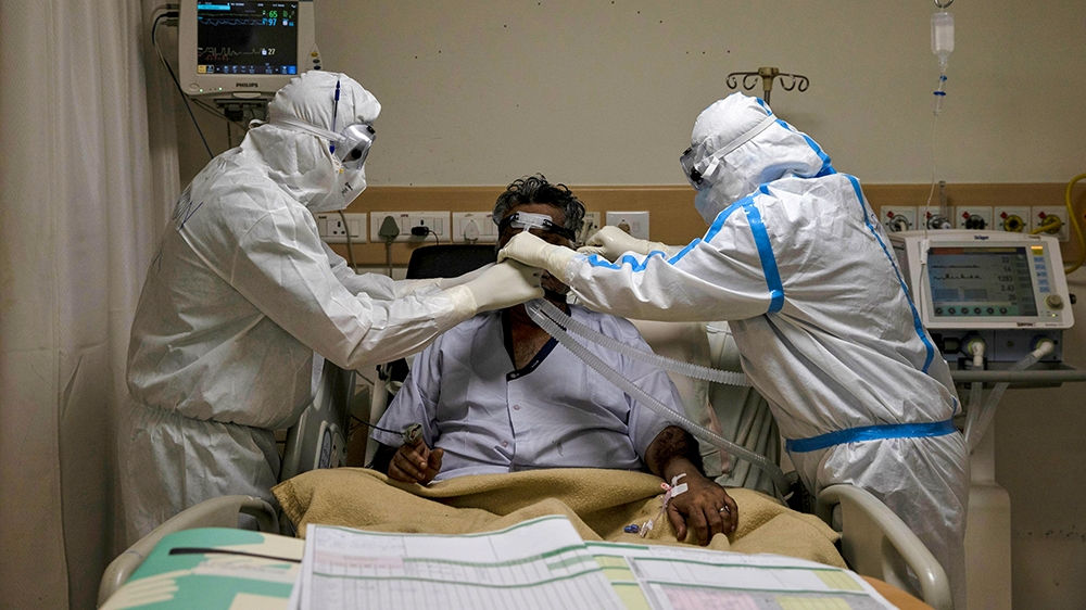 India running out of hospital beds amid record coronavirus cases | Coronavirus pandemic News | Al Jazeera