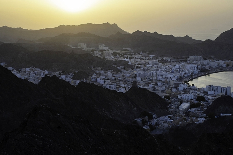 Oman's long-standing role as a mediator on regional and international issues, including with Iran, and its geographical position on one of the world's busiest shipping lanes, make its stability important to Gulf states and international allies like the US [File: Bloomberg]