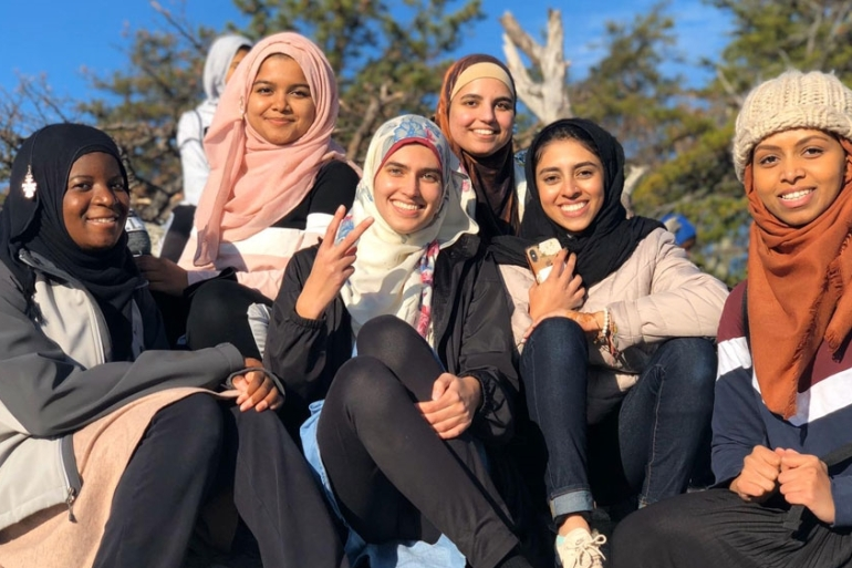 Muslim students say they are getting involved in interfaith activities to make campuses more hospitable [Photo credit: Mahvish Zakaib]