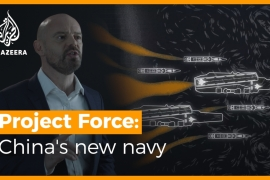 Project Force: How powerful is China's new navy?  [Daylife]