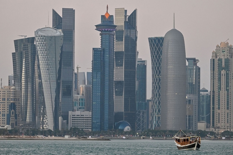 Cutting jobs and salaries for foreigners - who constitute 95 percent of Qatar's total workforce - could threaten the country's economic growth by raising the risk of labour shortages and hurting consumer spending [File: Bloomberg]