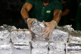 President Rodrigo Duterte has waged a 'war on drugs' ever since his election, claiming the Philippines is a major hub for illegal drugs [File: Aaron Favila/AP Photo]