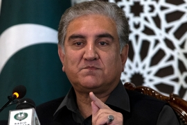 Pakistani Foreign Minister Shah Mahmood Qureshi said Pakistan is sending its evidence to the United Nations demanding India be censured [BK Bangash/AP]
