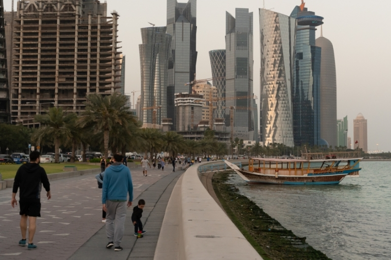 Failure to comply with Qatar's latest coronavirus restrictions is punishable by up to three years in prison and a fine of 200,000 riyals ($54,800) [File: Sorin Furcoi/Al Jazeera]