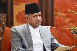 Nepal's Foreign Minister Pradeep Gyawali says requests for talks with India were made in November and December last year, and again in May [Getty Images]