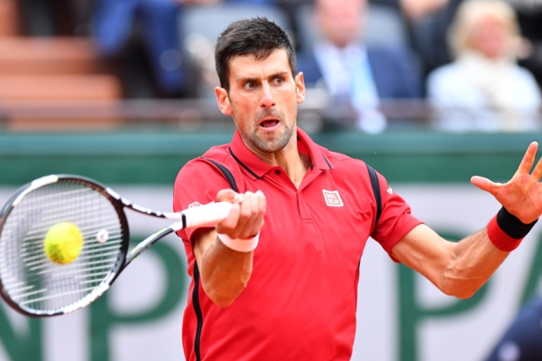 Djokovic has been criticised for organising a tournament during the pandemic [File: Mustafa Yalcin/Anadolu]