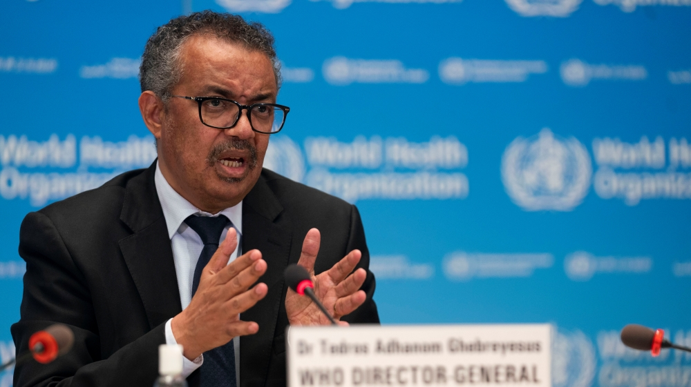 World facing 'catastrophic moral failure' on vaccines, says WHO chief