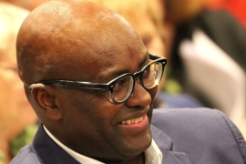 Cameroonian academic Achille Mbembe was accused of anti-Semitism and Holocaust relativisation in Germany for his works criticising Israel's treatment of the Palestinians [Wikimedia commons].