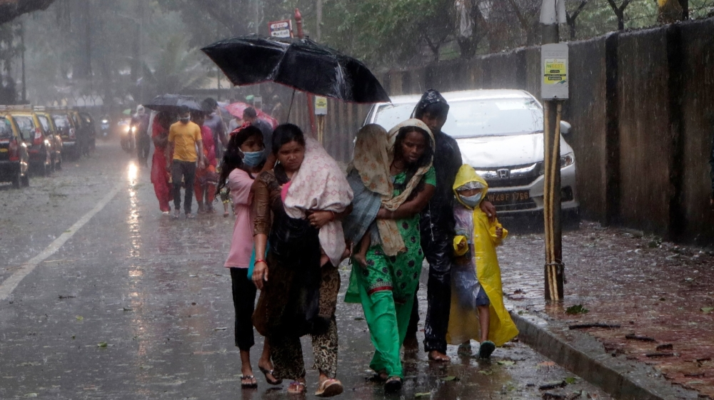 India: Two killed as Cyclone Nisarga largely spares Mumbai   Climate News    Al Jazeera