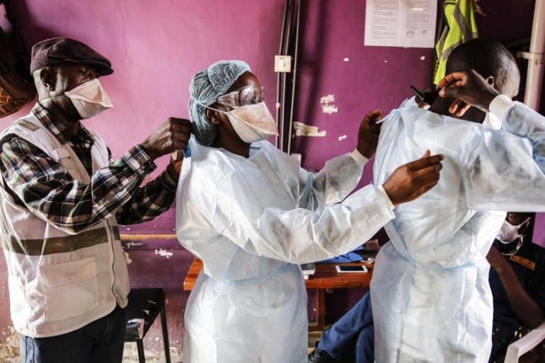 At least 14 doctors have died of the coronavirus since the first case in Kenya was confirmed in March [File: Brian Inganga/AP]