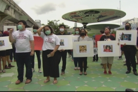 Thai gov't pressured to acknowledge activist's disappearance