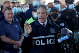 US police reforms: NY unions say officers used for political gain