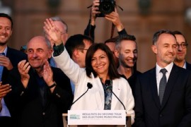 French Greens make gains as Macron's party falters in local polls